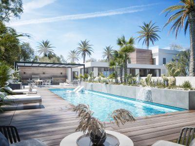 Avant-garde villa with amazing sea views in Nueva Andalucia