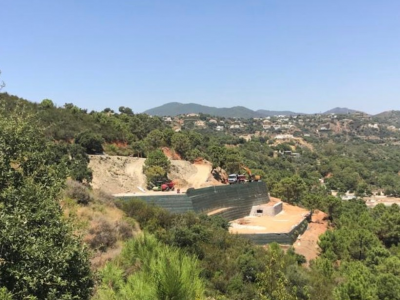 Big plot with open views in Monte Mayor