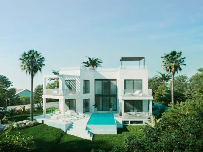 New modern style villa close to the beach