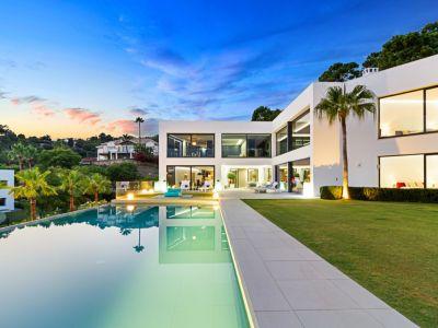 Luxury contemporary villa with amazing open sea views, Reserva de Alcuzcuz