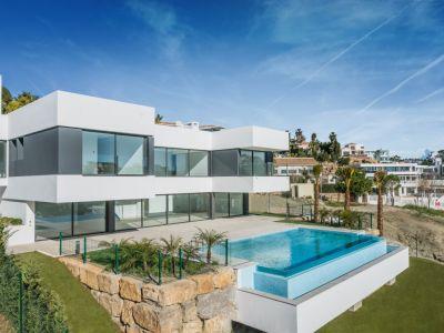 Atemberaubende moderne Villa mit offenem Meerblick, La Alquería