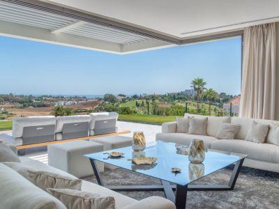 Nuevo apartamento con vistas panorámicas en urbanización cerrada, Paraiso Alto