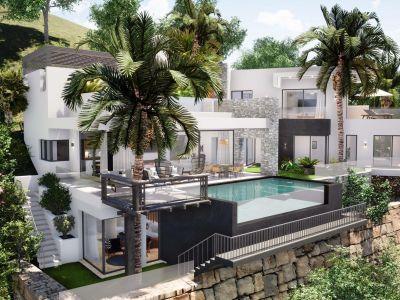 Spectacular modern villa with panoramic views, El Herrojo de la Quinta