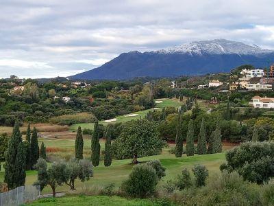 Frontline golf plot in Flamingos Golf Resort