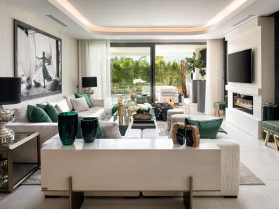 Außergewöhnliches 4 Schlafz. Duplex auf der Goldenen Meile Marbellas