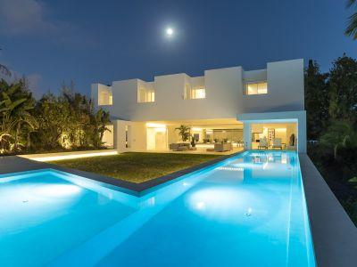 Espectacular villa de diseño en Guadalmina