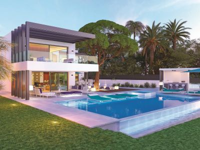 Villa moderne de luxe avec vue sur la mer