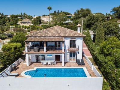 Villa mit Meerblick in El Rosario Marbella