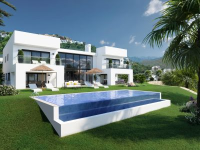 Spectacular modern Villa with Panoramic views in La Mairena