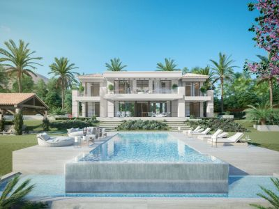 Contemporary villa in Flamingos Golf with panoramic views