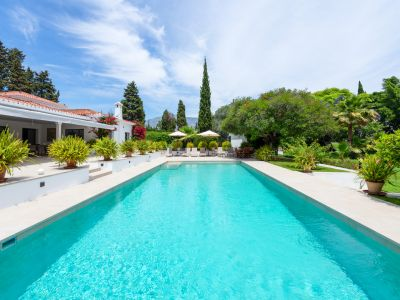 Villa with a huge garden in Puerto Banús