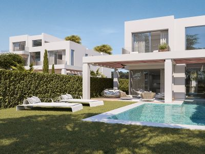 Brand new villas right on the golf course in Cabopino
