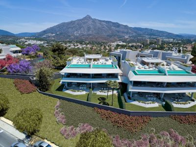 Unique luxury development with sea views, very close to Puerto Banús