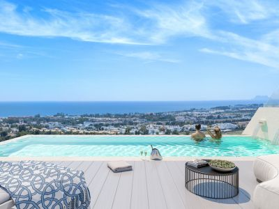 Unique luxury development with sea views close to Puerto Banús