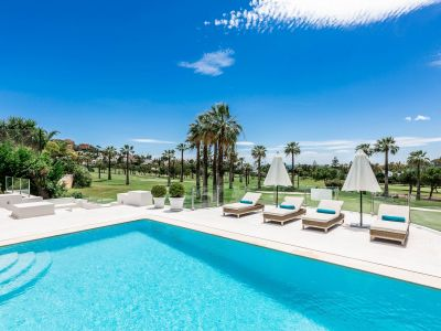 Best frontline golf villa in Nueva Andalucía