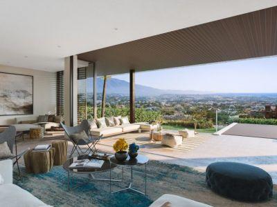 Avant-garde villas in the heart of the golf