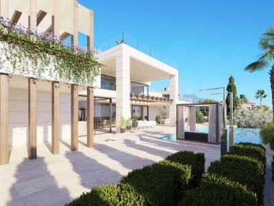 Maison de rêve avec installations thermales intérieures, Los Flamingos Golf