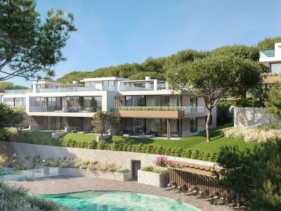 Ground floor apartment in Cabopino with sea views