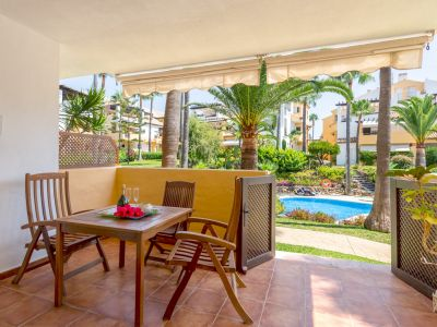 Apartment in Wohnanlage direkt am Strand in Bahia de Marbella