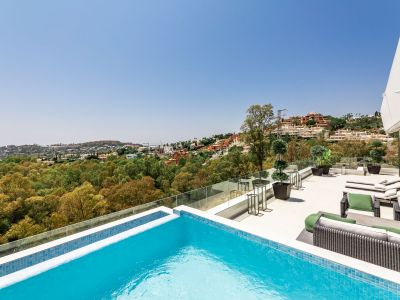 Modernes Penthouse mit atemberaubender Aussicht