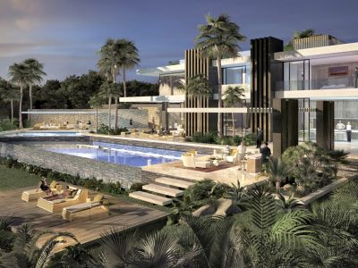 Project of a magnificent modern villa walking distance to Puente Romano