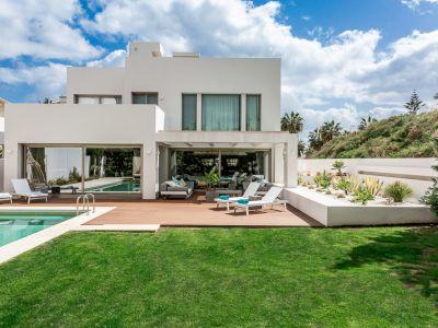 Stunning modern luxury beachside villa
