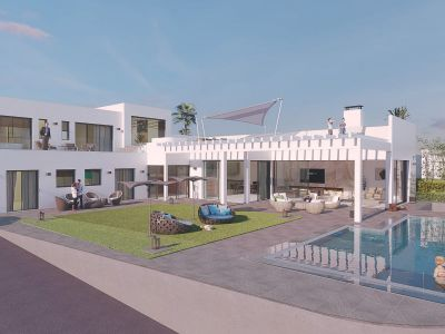 Luxury dream villa with sea views in El Rosario Marbella