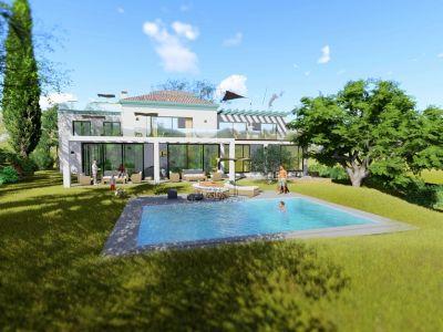 Luxury villa with sea views in El Rosario Marbella