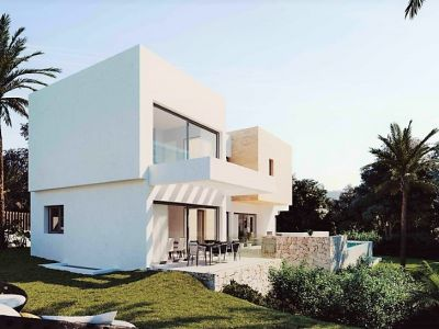 Modern villa in a gated urbanisation with 24-hour-security, El Paraiso