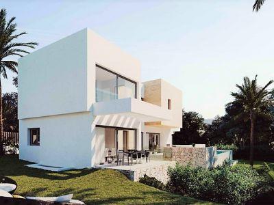 Villa moderne dans une urbanisation fermée avec sécurité 24 heures sur 24, El Paraiso