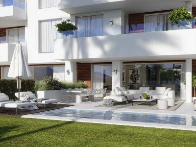 BENALUS Luxus-2 Schlafz. Erdgeschoss-Apartment im Herzen der Goldenen Meile neben dem Strand