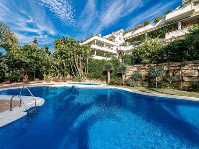 Luxurious apartment in Marbella Golden Mile