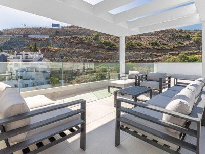 Small development of elegant modern apartments