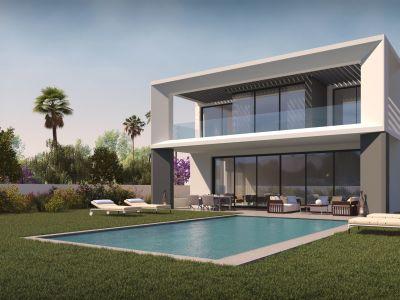 Avantgarde Villa project in Puerto Banús - first villa is already built.