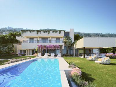 Zeitgenössische Villa mit herrlichem Meerblick, Flamingos Golf
