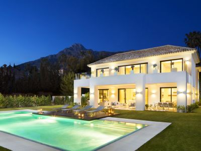 New modern villa for sale in Sierra Blanca