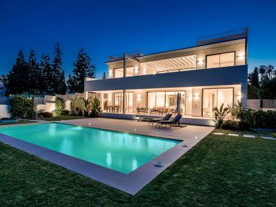 Belle villa moderne au club Las Lomas de Marbella