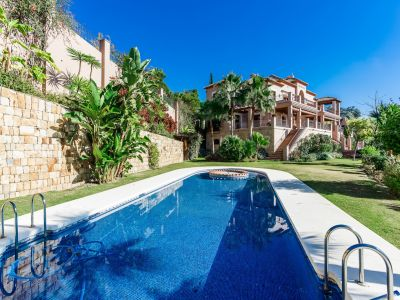 Villa with indoor spa and sea views in Marbella Club Golf Resort