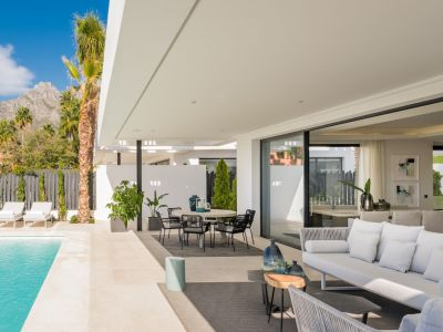 Brand new modern villa in a gated community on the Golden Mile