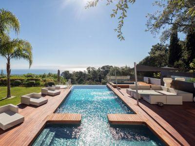 Villa vanguardista en La Zagaleta con vistas espectaculares