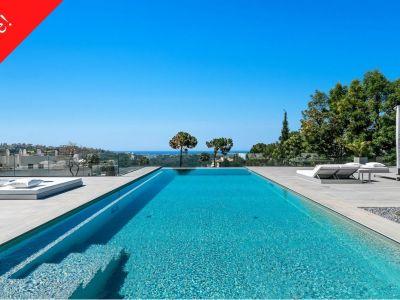 Hervorragende Villa mit Meerblick
