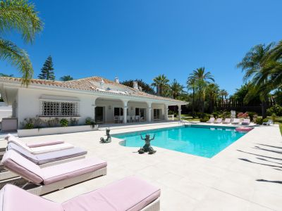 Stunning Exclusive Villa Front Line Las Brisas Golf in Gated Community .