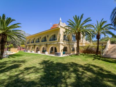 Grand Estate situated on the Marbella Golden Mile
