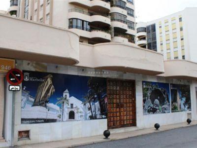 ¡Fantástica oportunidad! Amplio local comercial a pie de calle en el centro de Marbella a unos pasos de la playa