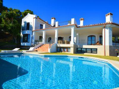 Maravillosa villa de estilo mediterráneo en La Zagaleta, Benahavis