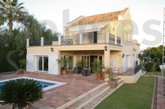 South-facing uniquely designed 2 storey villa very close to the Santa Maria Polo Club and Galerías Paniagua.