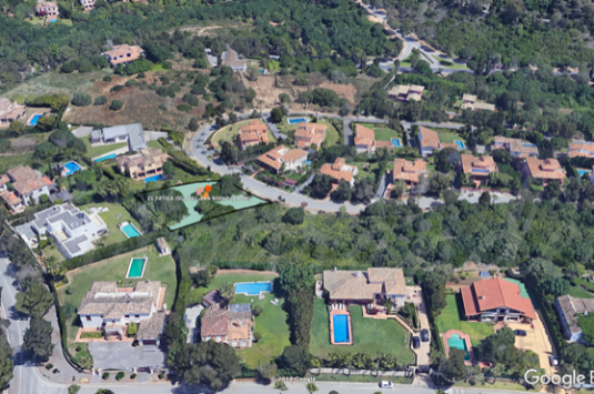 A Sotogrande building plot with full outline planning permission for a detached single family dwelling