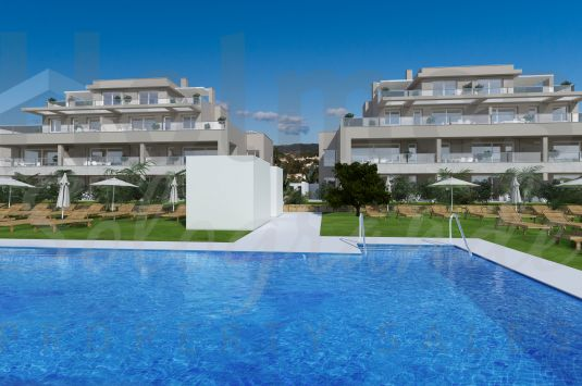 Ground floor apartment in the new development of Emerald Green in San Roque Club.