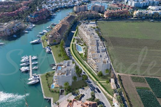 First floor apartment in the new luxury development of PIER in the Sotogrande Marina.