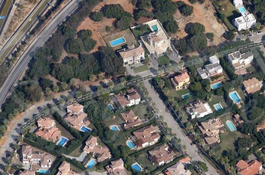 Plot for sale in Sotogrande Costa.